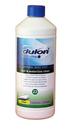 Dulon Marine Hull and Waterline Clean 22 1ltr